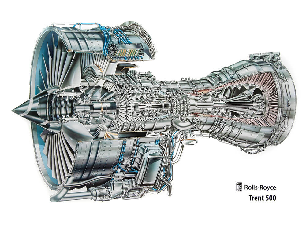 [Translate to Englisch:] Rolls-Royce Trent 500