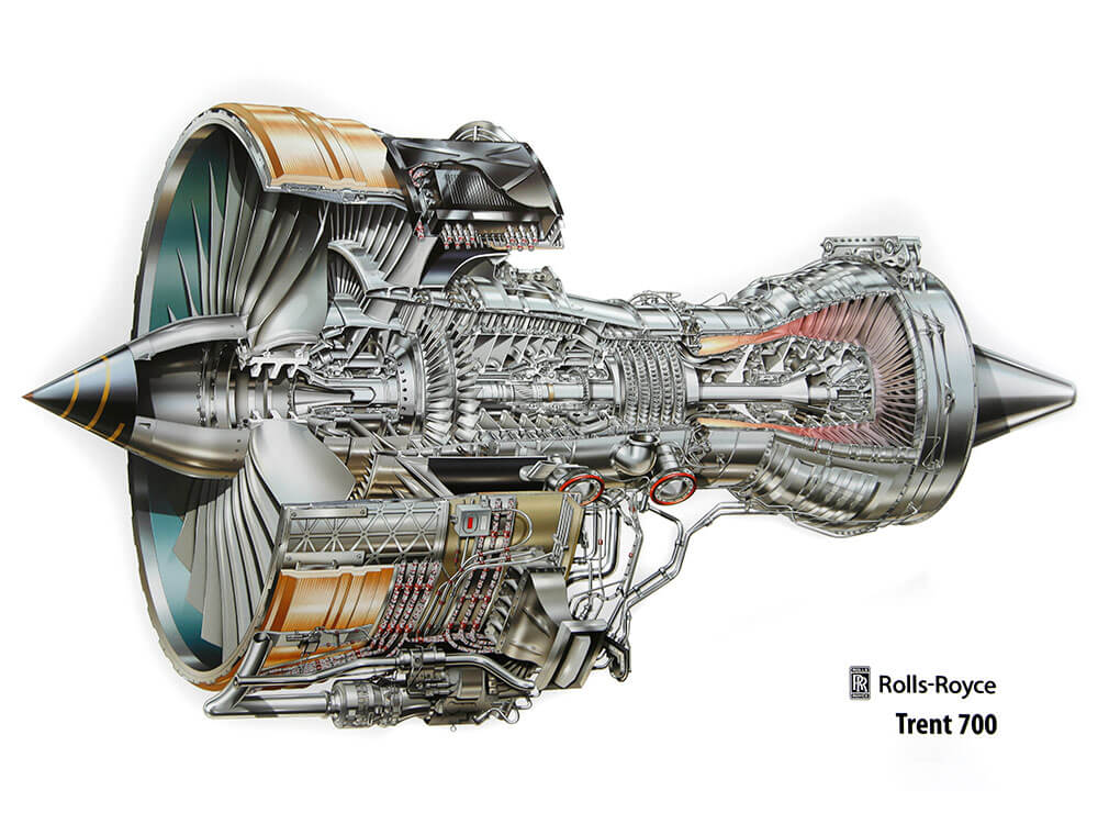 [Translate to Englisch:] Rolls-Royce Trent 700